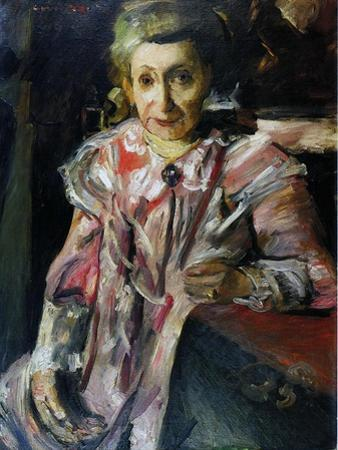 Frau Hedwig Behrend, 1916 by Lovis Corinth
