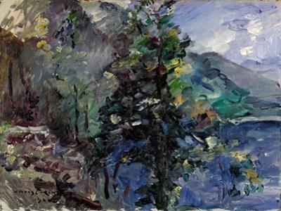 Jochberg at the Lake of Walchensee by Lovis Corinth