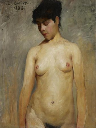 Nude Female, 1886 by Lovis Corinth