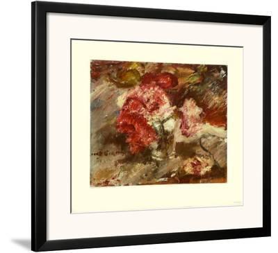 Pinks by Lovis Corinth