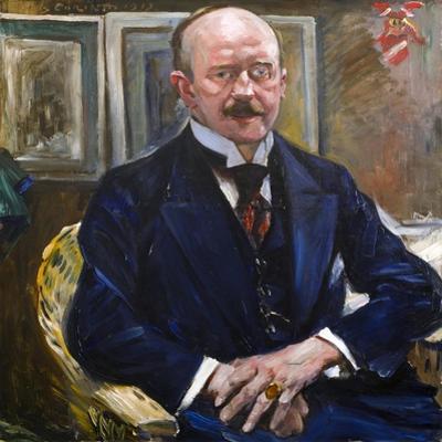 Portrait of Alexander Freiherr Von Reitzenstein, 1913 by Lovis Corinth