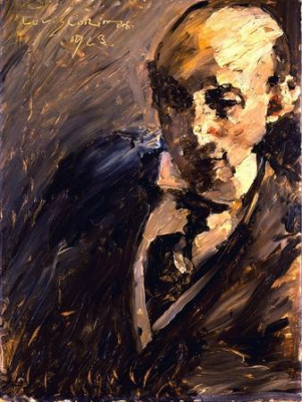 Portrait of Alfred Kuhn, 1923 by Lovis Corinth