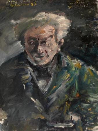 Portrait of Georg Brandes (1842-192) by Lovis Corinth