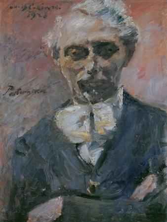 Portrait of Leonid Pasternak (1862-194), 1923 by Lovis Corinth
