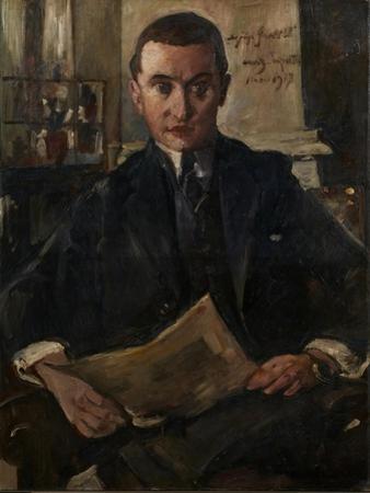 Portrait of Wolfgang Gurlitt by Lovis Corinth