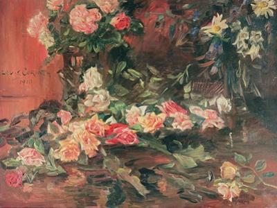 Rosen by Lovis Corinth