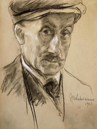 Self-Portrait, 1923 by Lovis Corinth