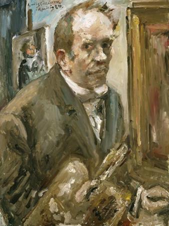 Self-Portrait by Lovis Corinth