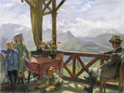 The Klobenstein, 1910 by Lovis Corinth
