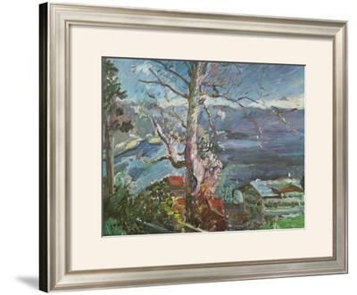 Tree at the Walchensee by Lovis Corinth