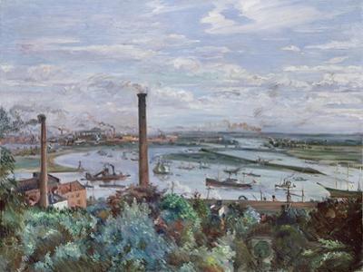View of Kohlbrand, 1911 by Lovis Corinth