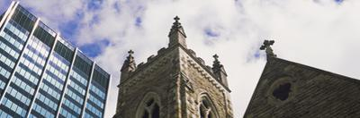 Low angle view of a church, Trinity Episcopal Church, PNC Tower, Columbus, Ohio, USA