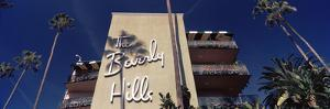 Low Angle View of a Hotel, Beverly Hills Hotel, Beverly Hills, Los Angeles County, California, USA