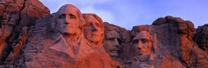 Low Angle View of a Monument, Mt Rushmore National Monument, Rapid City, South Dakota, USA