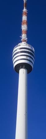 Low Angle View of a Television Tower, Fernsehturm Stuttgart, Stuttgart, Baden-Wurttemberg, Germany