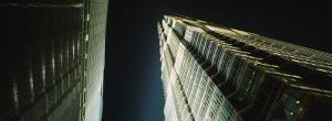 Low Angle View of a Tower, Jin Mao Tower, Pudong, Shanghai, China