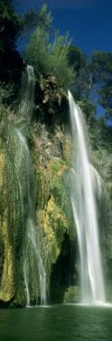 Low Angle View of a Waterfall, Sillans Waterfall, Provence, France