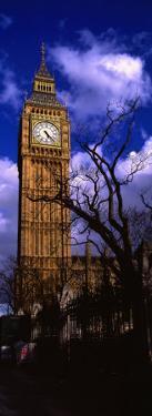 Low Angle View of Big Ben, London, England, United Kingdom