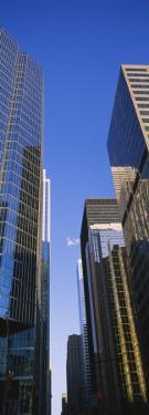 Low Angle View of Buildings in a City, Toronto, Ontario, Canada