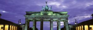Low Angle View of the Brandenburg Gate, Berlin, Germany