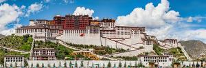 Low Angle View of the Potala Palace, Lhasa, Tibet, China