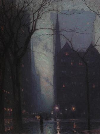 Fifth Avenue at Twilight, c.1910