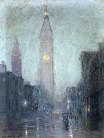 Madison Avenue at Twilight