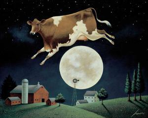 Cow Jumps over the Moon by Lowell Herrero