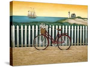 Cycle to the Beach by Lowell Herrero