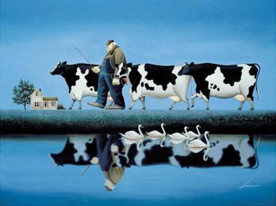 Delta Cows by Lowell Herrero