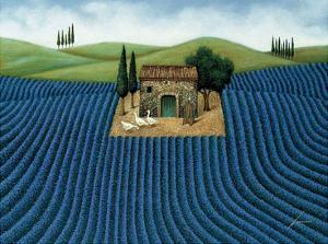 Lavender Field by Lowell Herrero