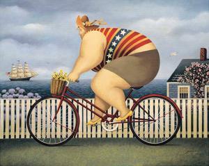 Mary's New Bike by Lowell Herrero