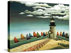 Rainbow Fleet by Lowell Herrero