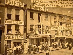 Lower Hudson Street, N.Y.C., 1865