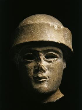 Lower Mesopotamia, Iraq, Head of a King of the Ur, Third Dynasty, Circa 2100-2000 B.C.