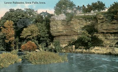 Lower Palisades, Iowa Falls