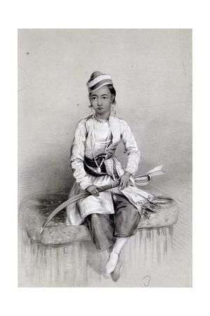 'A Young Hill Raja', 1844