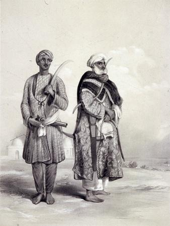 A Zemindar and a Puthan, 1844