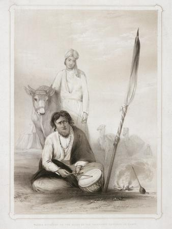Fakeer Attached to the Suite of the Governor General in Camp, 1844