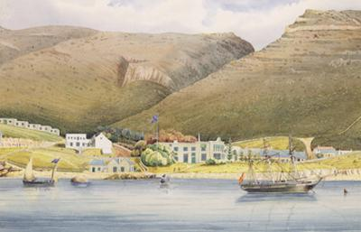 The Admiral House, Simon's Town, Cape of Good Hope, 1844 (W/C on Paper) by Lt. Humphrey John Julian
