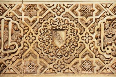 Interior of Alhambra Palace, Granada, Spain by lubastock