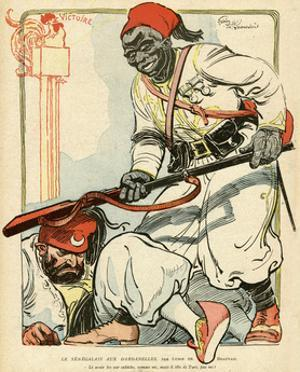 The Senegalese in the Dardanelles Wwi by Lubin De Beauvais