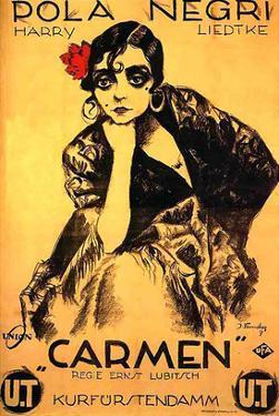 Lubitsch Film Carmen Pola Negri