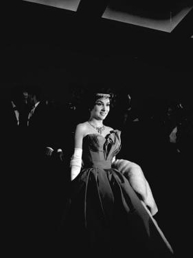 Gina Lollobrigida, 1958 by Luc Fournol