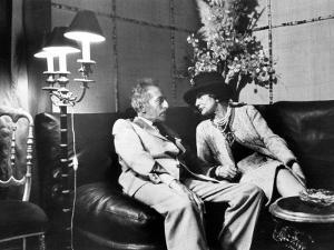 Jean Cocteau and Coco Chanel by Luc Fournol