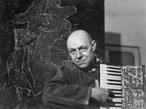 Jean Dubuffet (1901-1985) by Luc Fournol
