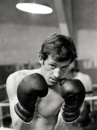 Jean-Paul Belmondo, June 21, 1960 by Luc Fournol