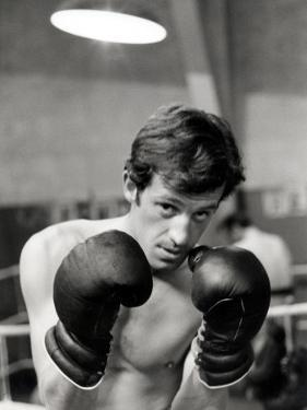 Jean-Paul Belmondo, June 21, 1960 by Luc Fournol