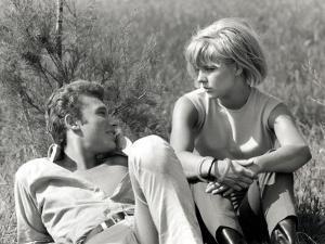 Johnny Hallyday and Sylvie Vartan, June 6, 1963 by Luc Fournol