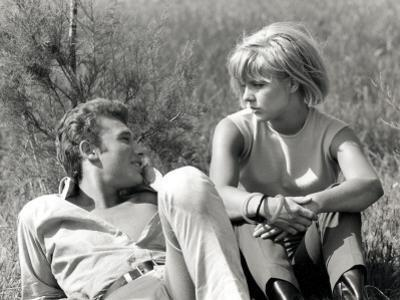 Johnny Hallyday and Sylvie Vartan, June 6, 1963